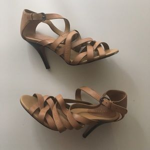 Cole Haan Shayna Strappy Leather heel